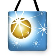 Stars And Sphere Tote Bag