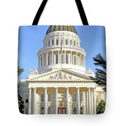 State Of California Capitol Building 7d11736 Tote Bag