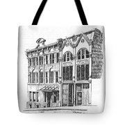 State Publishing And Parchen Building Helena Montana Tote Bag