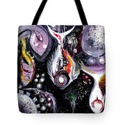 Static Fish Suspended Tote Bag