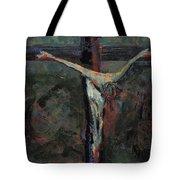 Station 12 Jesus Dies On The Cross Tote Bag