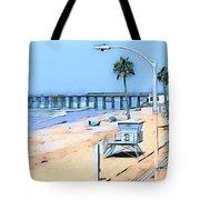 Station 3 Oceanside California Tote Bag