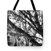 Statue, Contemplating Tote Bag by Edward Lee