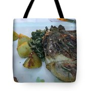 Steak Tote Bag