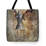 Steampunk Angel  Tote Bag