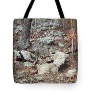 Steep Trails Tote Bag