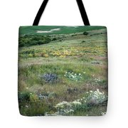Steptoe Butte View 9276 Tote Bag