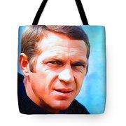 Steve Mcqueen, Portrait Tote Bag
