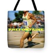 Steve Prefontaine, The Legend, Oregon Ducks Tote Bag