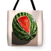Still Life Watermelon 1 Tote Bag