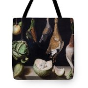 Still Life With Game Fowl Tote Bag
