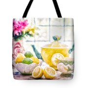 Still Life With Lemons Tote Bag