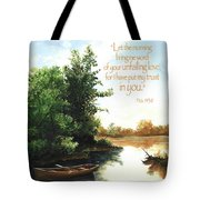 Still Waters Tote Bag by Clint Hansen