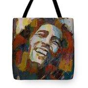 Stir It Up - Retro - Bob Marley Tote Bag