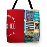 Stitched Quilting Exhibit Tote Bag