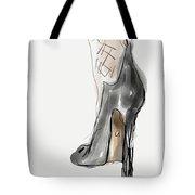 Stockings And Stilettos Tote Bag