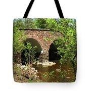 Stone Bridge At The Eastern Entrance Of The Manassas Battlefield  Tote Bag