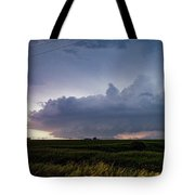 Storm Chasing West South Central Nebraska 048 Tote Bag