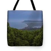 Stormy Day On Sleeping Bear Dunes Tote Bag