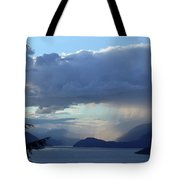 Stormy Inlet Tote Bag