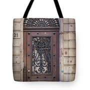 Strasbourg Door 11 Tote Bag