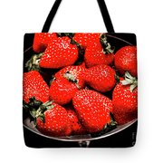 Strawberry Cocktail Tote Bag