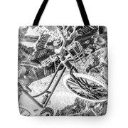 Street Cycles Tote Bag