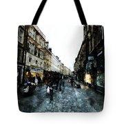 Street View Tote Bag by Art Di