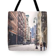Streets Of Soho Tote Bag