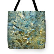 Structures  In Ice Two  Tote Bag