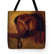 Study For Bay Horse Seen From Behind Tote Bag