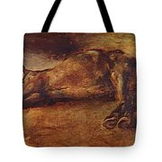 Study For Dead Horse Tote Bag