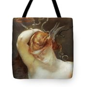 Study For The Gorgon And The Heroes Tote Bag