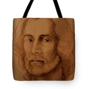Study Of Head, Drawing Tote Bag
