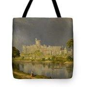 Study Of Windsor Castle Tote Bag