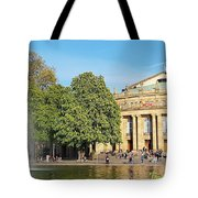 Stuttgart Opera House Tote Bag