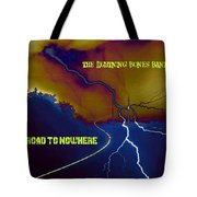 Submitted Art Work For The Lightning Bones Band Tote Bag