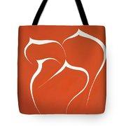 Succulent In Orange Tote Bag