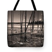 Sulfur Field Tote Bag