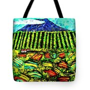 Sumatra Coffee Plantation Tote Bag