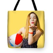 Summer And Beach Love Tote Bag