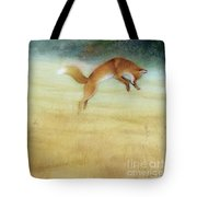 Summer Gold-fox Tote Bag