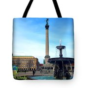 Summer In Stuttgart Tote Bag