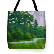 Green Summer  Tote Bag