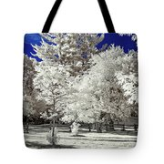 Summer Park In Infrared Tote Bag