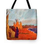 Summer Vacation Tote Bag by Randy Sylvia