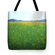 Summer Wild Field Tote Bag