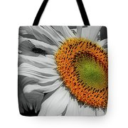 Sunflower And Shy Friend Tote Bag