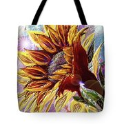 Sunflower In The Sun Tote Bag by Darren Cannell