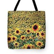Sunflowers In Kansas Tote Bag